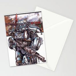 Fallout 4: Brotherhood of Steel Soldier Stationery Cards