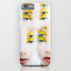 Green Alien Eyes iPhone 6s Slim Case
