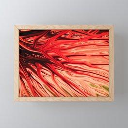 Strawberry Firethorn by Chris Sparks Framed Mini Art Print