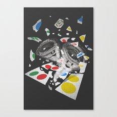 Twistin' Canvas Print
