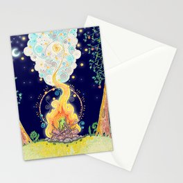 Woodland Campfire Stationery Cards