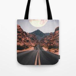 Mooned Tote Bag