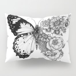 Butterfly in Bloom Pillow Sham