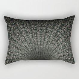 Dark Abyss Tubular Mandalas 2 Rectangular Pillow