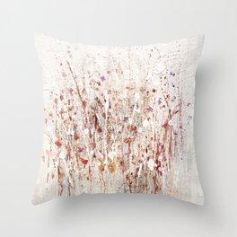 little rose Throw Pillow