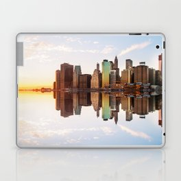 Reflection of Manhattan Laptop & iPad Skin
