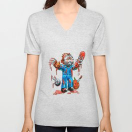 Freddy Of All Faces Unisex V-Neck