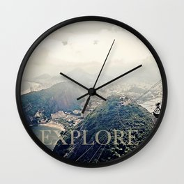 explore. Wall Clock
