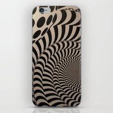 Optical Illusion for IPhone  iPhone & iPod Skin