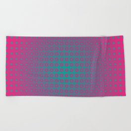 dotted fantasy Beach Towel
