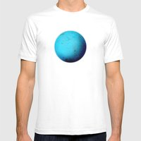 Element: Water White MEDIUM Mens Fitted Tee