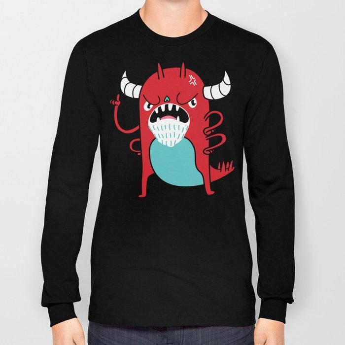 Monster Nagging Long Sleeve T-shirt
