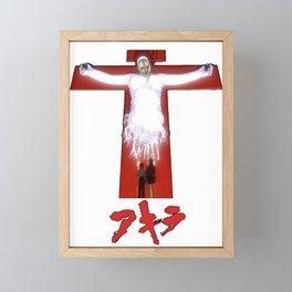 EVA - SAD JAPANESE ANIME AESTHETIC Framed Mini Art Print