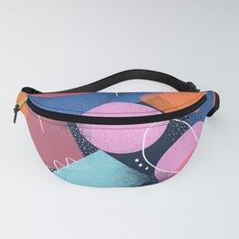 Bright Shapes Fanny Pack