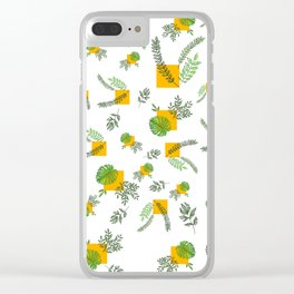 Wall Garden Clear iPhone Case