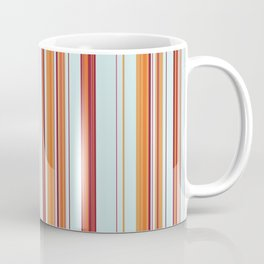 Combined Stripe Pattern - Clear Sailing Colorway Coffee Mug