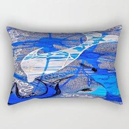 Dolphin Spirit tetkaART Rectangular Pillow
