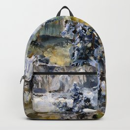 Akseli Gallen Kallela Imatra in Wintertime Backpack