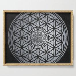 Sacred Unity - Sacred Geometry Serving Tray