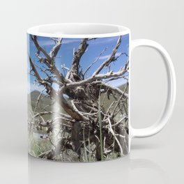 Ghost town twisted tree Coffee Mug