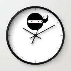 Bodoni Ninja Wall Clock