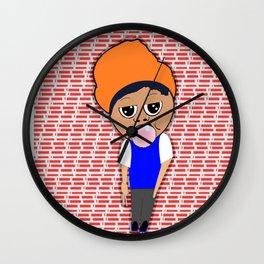 Don't Burst my Bubble Wall Clock