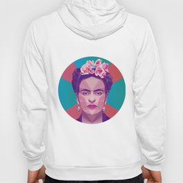 Frida Kahlo Low Poly Collection Hoody