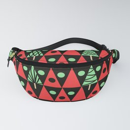 Christmas trees Fanny Pack