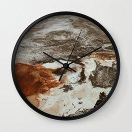 Wyoming/Mars Wall Clock
