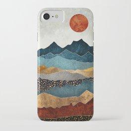 Amber Dusk iPhone Case