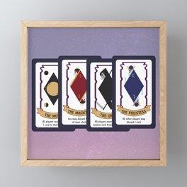 Mystic Match Framed Mini Art Print