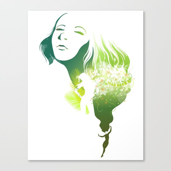 The Summer Canvas Print