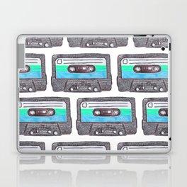 Cassette Patten *Light Blue Laptop & iPad Skin