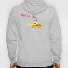 Yellow Submarine Bubbling Love Hoody