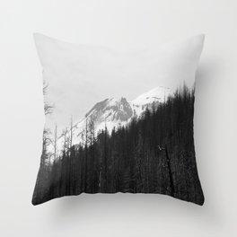 Trees Die Throw Pillow