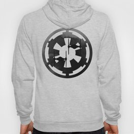 Imperial Fighters in Black Watercolor Hoody