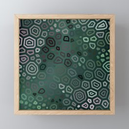 Experimental pattern 46 Framed Mini Art Print