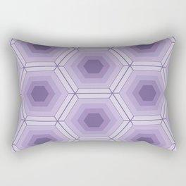 Hexagon pattern Rectangular Pillow