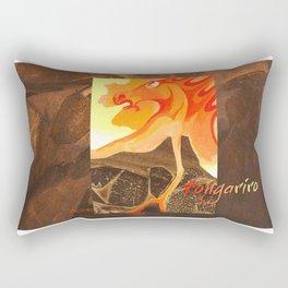 Mount Tongariro  Volcano Spirit Rectangular Pillow