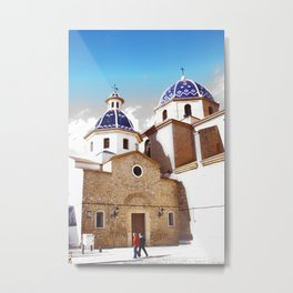 Altea, Costa Blanca Spain Metal Print