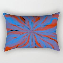 radial layers 20 Rectangular Pillow