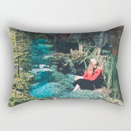 The Red Shirt (Gardentopia)  Rectangular Pillow