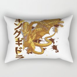 Three-Headed Lightning Death Rectangular Pillow