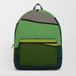 Green Saw Backpack