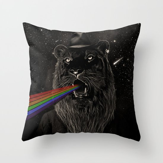 Call of the Wild Night II Throw Pillow