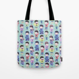 The Sextuplets Tote Bag