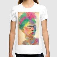 frida kahlo T-shirts featuring frida kahlo by vale agapi