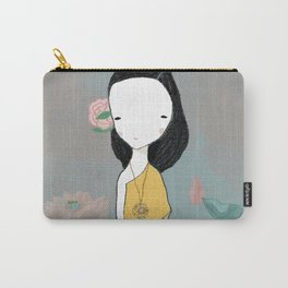 Girl with water lilies Carry-All Pouch