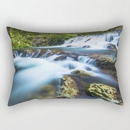 High motion waterfall Rectangular Pillow
