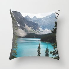 • lake moraine • Throw Pillow